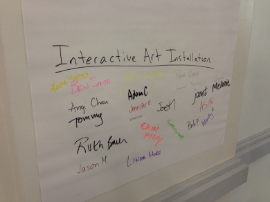 Some incredible ideas that were generated from some incredible teachers.