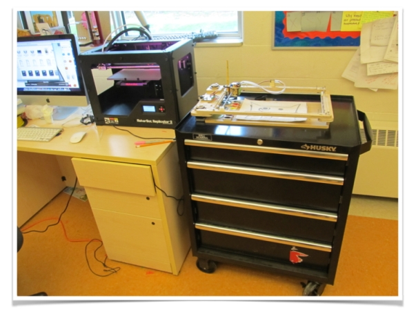 The start of our Maker Education adventure: The MakerCart